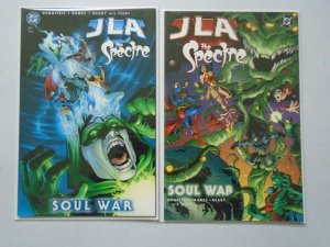JLA The Spectre Soul War Set: #1-2 8.0 VF (2003)