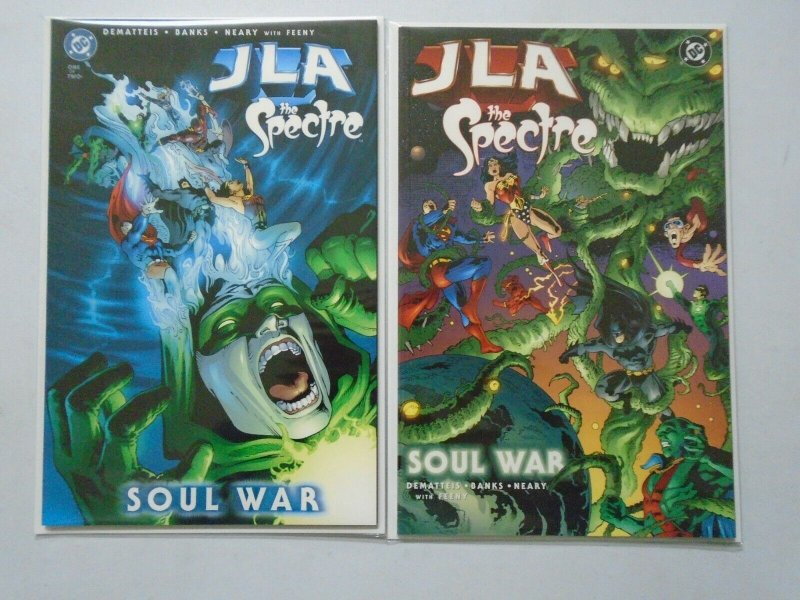 JLA The Spectre Soul War Set: #1-2 8.0 VF (2003)