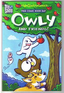 OWLY and FRIENDS, Yam, Korgi, Johnny Boo, FCBD, 2009, NM