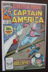 Captain America (1990 1st Series) #373, DIRECT EDITION 7.5