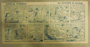 Uncle Wiggily by Francis Kern from 6/3/1951 Third Size Page ! 7.5 x 14 Inches
