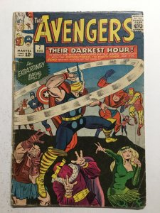 Avengers 7 Good Gd 2.0 Cover Detached Marvel