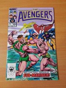 The Avengers #262 ~ NEAR MINT NM ~ (1985, Marvel Comics)