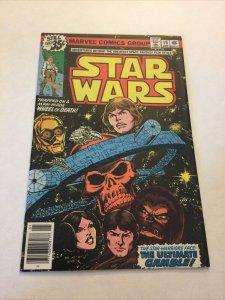 Star Wars 19 Nm- Near Mint- Newsstand Edition Marvel Comics