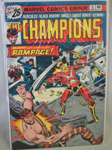 The Champions #5  VF Unread condition.  Rampage!