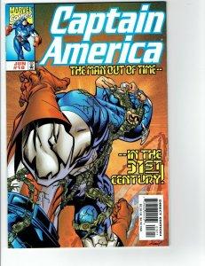 Captain America #18 NM- Vs Korvac 1st Appearance Primax  Marvel 1999 1st Print