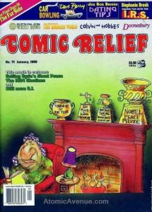 Comic Relief (magazine) #71 FN; Page One | save on shipping - details inside