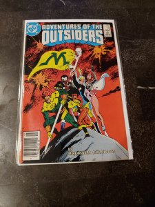 Adventures of the Outsiders #33 (1986)