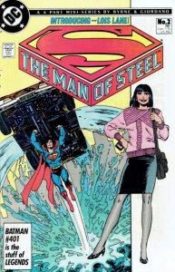 Man of Steel (1986 series) #2, Fine (Stock photo)