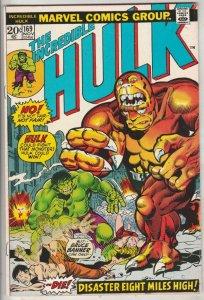 Incredible Hulk #169 (Nov-73) VF High-Grade Hulk