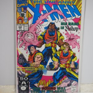 The Uncanny X-Men #282 and #283 (1991) First Bishop ! NM Unread!