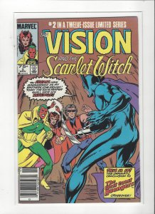 Vision and the Scarlet Witch (1985 series) 2 of 12  VF/NM Marvel Comics
