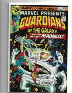 MARVEL PRESENTS #4 - NM - GUARDIANS OF THE GALAXY - BRONZE AGE KEY