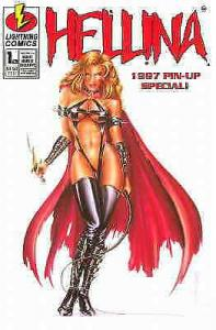 Hellina 1997 Pin-Up Special #1A VF/NM; Lightning   save on shipping - details in