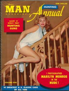 Modern Man Annual #5 1959-nude Marilyn Monroe photo-Jayne Mansfield-FN