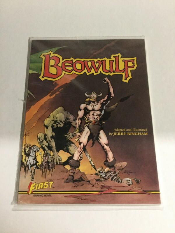 Beowulf Oversized SC Softcover First Comics B19