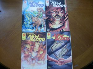 4 Near-Mint Warp ELFQUEST Comic NEW BLOOD #13 #16 #19 #20 (1994) Blair Pini Chan