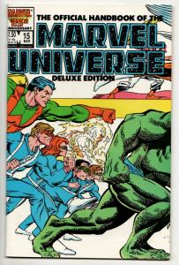 Official Handbook of the Marvel Universe #15 Deluxe Edition (1987) VF/NM