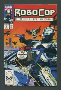 RoboCop #8  /  9.0 VFN/NM - 9.2 NM-   October 1990