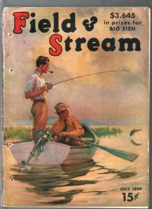 Field & Stream 7/1939-Howard L Hastings-Harold Titus-hunting-fishing-pix-FR/G