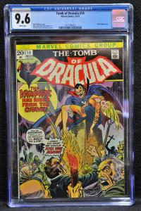 Tomb of Dracula #14 (Marvel, 1973) CGC 9.6