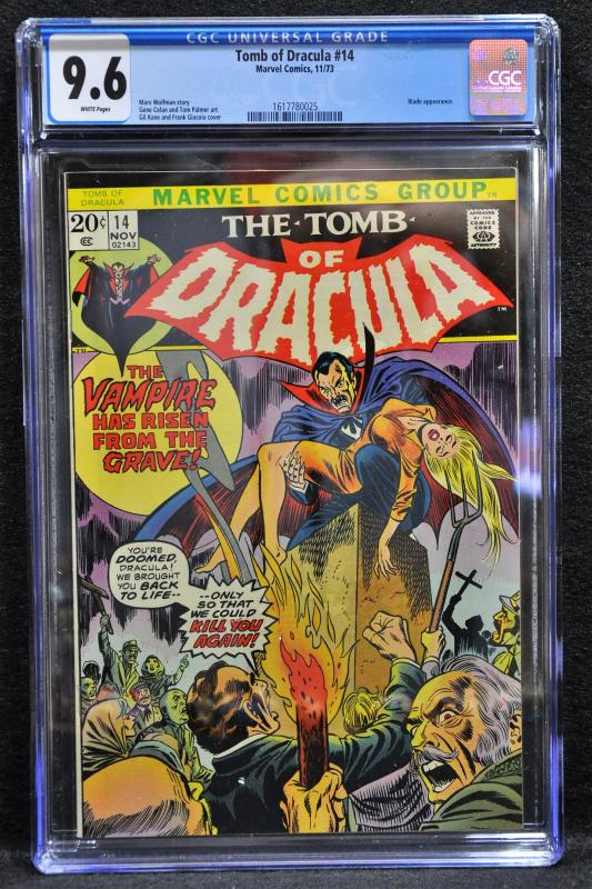 Tomb of Dracula #14 (Marvel, 1973) CGC 9.6