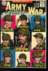 Our Army at War #112 (1961) Classic Cover