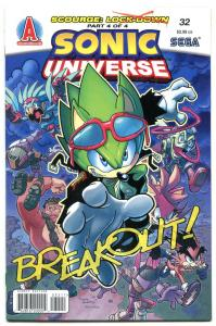 SONIC UNIVERSE #32 2011- Archie Comics- Sega  NM-