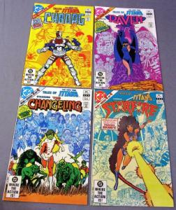 Tales of NEW TEEN TITANS #1 2 3 4, VF/NM, Cyborg, 1982 more DC in store, 1-4 set