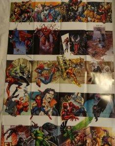 HERE LIES SPIDER-MAN Promo Poster, 24 x 36, 2012, MARVEL, MORBIUS, VENOM Unused