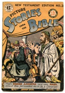 Picture Stories From The Bible #3 1946- New Testament Edition FN+
