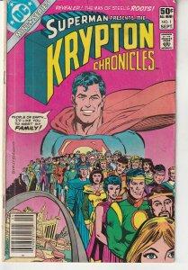 Krypton Chronicles #1 (1981)