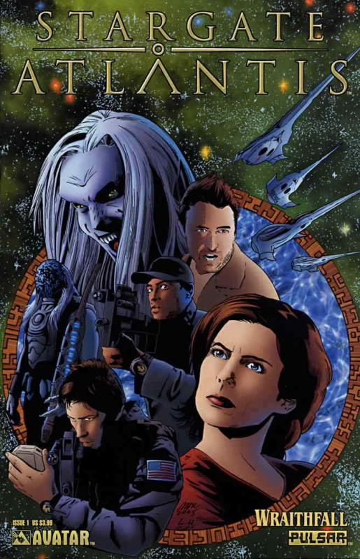 Stargate Atlantis: Wraithfall #1 VF/NM; Avatar | save on shipping - details insi