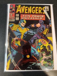 Avengers #29 - Awesome Goliath Action Cover - FINE +1966