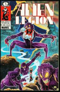 ALIEN LEGION #10-MARVEL/EPIC COMICS-FRANK CIROCCO NM