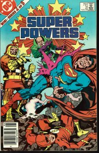 Super Powers #2 - 9.2 or Better - DC 1984