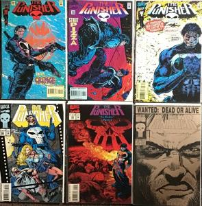 PUNISHER (MARVEL) VOLUME ONE #57,95-99 ALL NM CONDITION