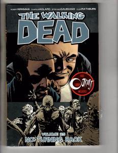 The Walking Dead Vol # 25 TPB Image Comics TPB 1st Print SEALED Outcast # 1 J278