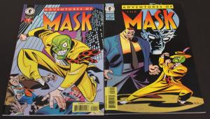 Dark Horse Comics Lot of 2-Adventures of the MASK #1-2  F/VF(SIC629)
