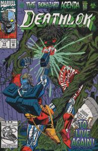 Deathlok (2nd Series) #14 VF/NM; Marvel   save on shipping - details inside