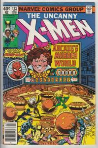 X-Men Mark Jewler Variant #123 (Jul-79) VF+ High-Grade X-Men