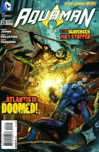 Aquaman (7th Series) #23 VF/NM; DC   save on shipping - details inside
