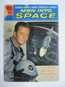MEN INTO SPACE  #FC1083 (Dell,1960) (FAIR;FR)  Photo Cover!