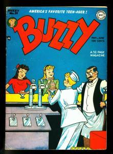 Buzzy #19 1948- DC Teen Humor -Soda Shop cover - VG
