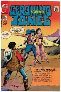 Geronimo Jones 8 Dec 1972 VF- (7.5)