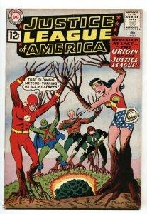 Justice League Of America #9-DC Silver-Age Origin issue-vg