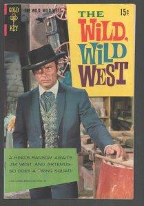 Wild Wild West #6 1969-Robert Conrad photo cover-Maximilian's Treasure-Glos...