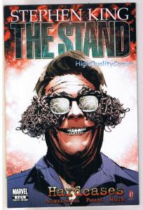 STEPHEN KING - The Stand : HARDCASES 1 2 3 4 5, NM+ , 2010, a 5 issue unread set