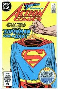 Action Comics 581 Jul 1986 NM- (9.2)