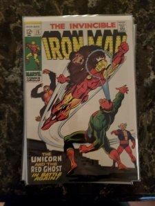 IRON MAN #15 (Marvel,1969) Condition VG/FN